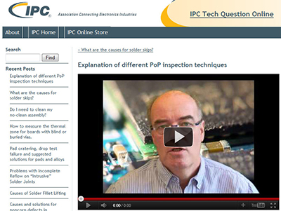 NPL Defect of the Month videos for IPC