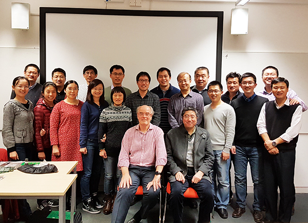 Chinese Engineers visit Bob Willis in Chelmsford