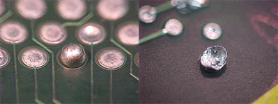 Solder Balloons – Defect of the Month