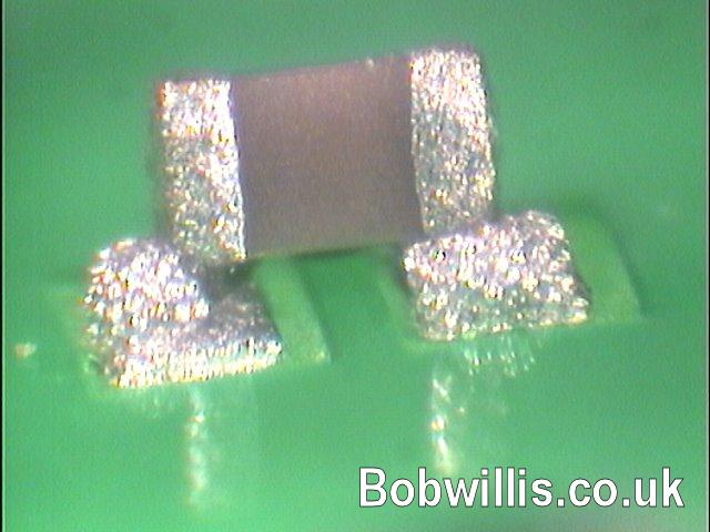 0201, 01005 lead free soldering defects photo album